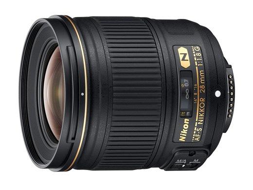 Nikon - Nikkor AF-S 28mm f/1.8G