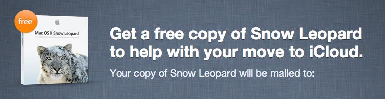 Snow Leopard in regalo a tutti gli utenti Mobile Me per facilitare la transizione ad iCloud
