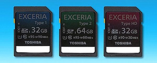 Toshiba Exceria SD Card