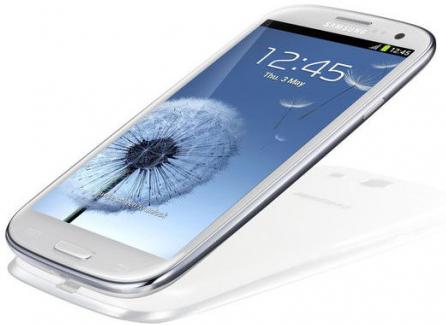 Samsung Galaxy S III bianco