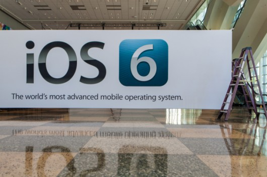 WWDC 2012 - Banneri di iOS 6 al Moscone West di San Francisco