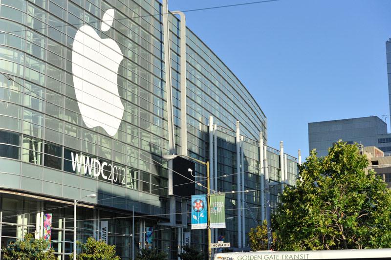 WWDC 2012 - Il Moscone West pronto per l'evento