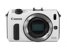 Canon EOS M - Corpo macchina bianco