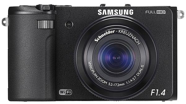 Samsung EX2F - Compatta super luminosa