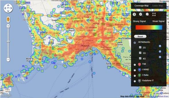 OpenSignalMaps - Screenshot
