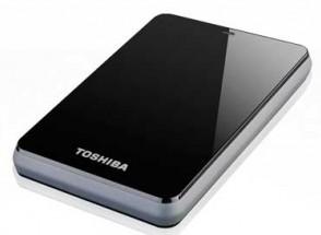 Toshiba HD portatile usb 3.0 da 1TB di capacità, colore nero