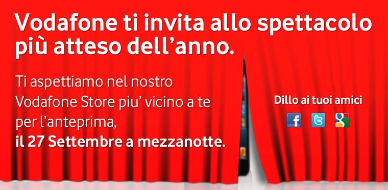 iPhone 5 - Notte Bianca Vodafone