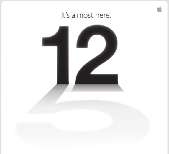 iPhone 5 - It's almost here - Invito per la stampa americana