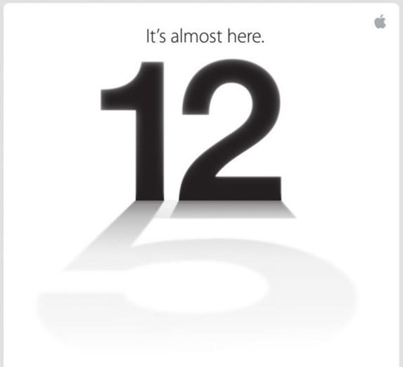 iPhone 5 - It's almost here - Invito per la stampa americana