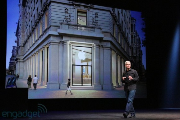 Tim Cook parla dell'Apple Store di Barcellona