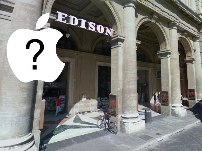 Libreria Edison Firenze - Piazza della Repubblica - Nuova location per l'Apple Store ?