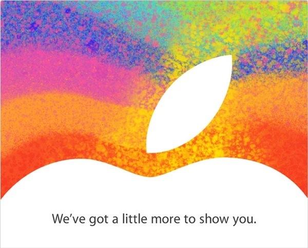 A little more to show you - Evento Apple - iPad mini ?