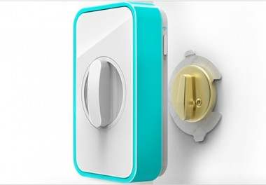 Apigy Lockitron, serratura keyles / wireless per iPhone e smartphone