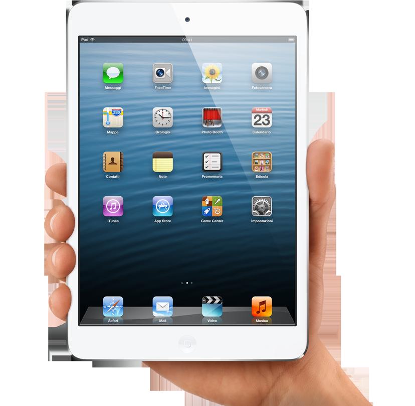 iPad mini bianco