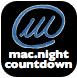 mac.night countdown widget - L'icona del widget per Dashboard