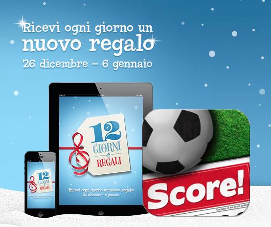 12 Giorni di Regali - Score! Classic Goals