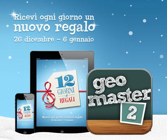 12 Giorni di Regali di iTunes Store - Geo Master