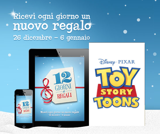 12 Giorni di Regali - iTunes Store - Toy Story Toons