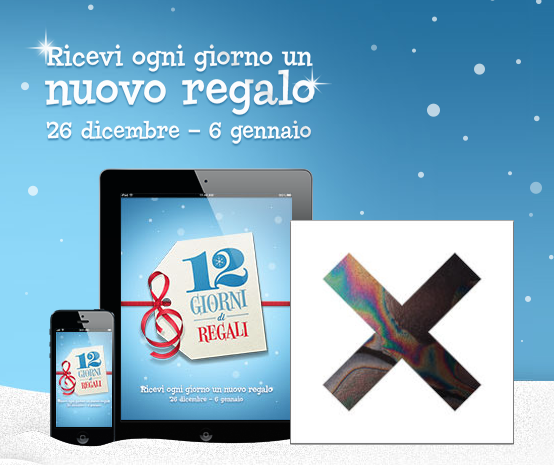12 Giorni di Regali - iTunes Store - The XX - The XXMas