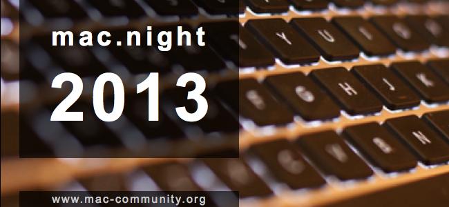 mac.night 2013