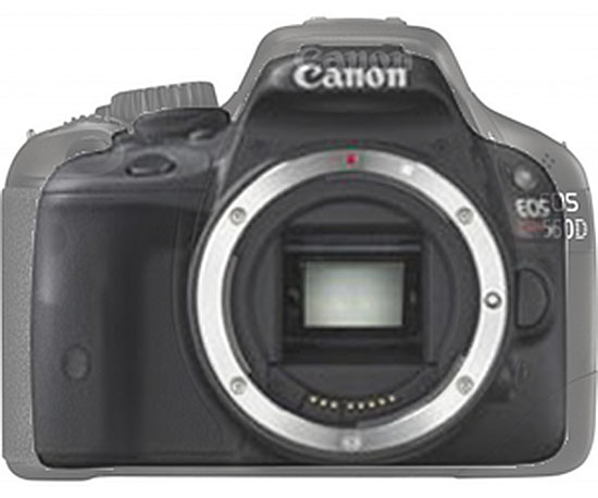 Canon EOS b confrontata con EOS 550D