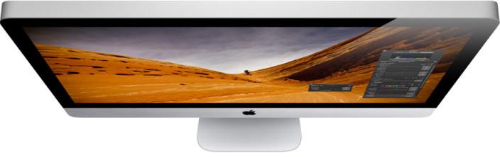 iMac Mid 2011 visto dall'alto