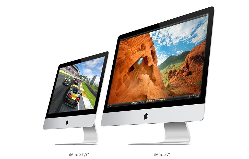 "iMac 21.5"" e 27"""