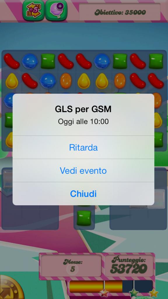 iOS 7 - La nuova finestra di avviso