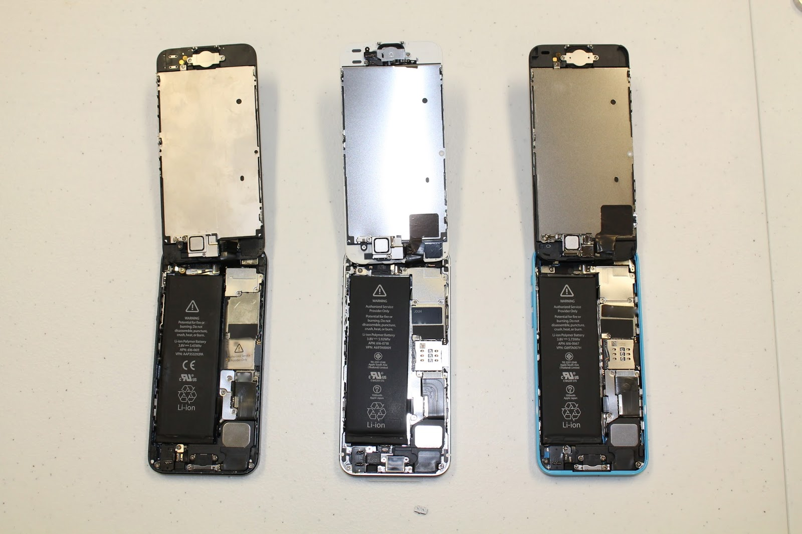 iExpert Australia - Teardown iPhone 5/iPhone 5C/iPhone 5S