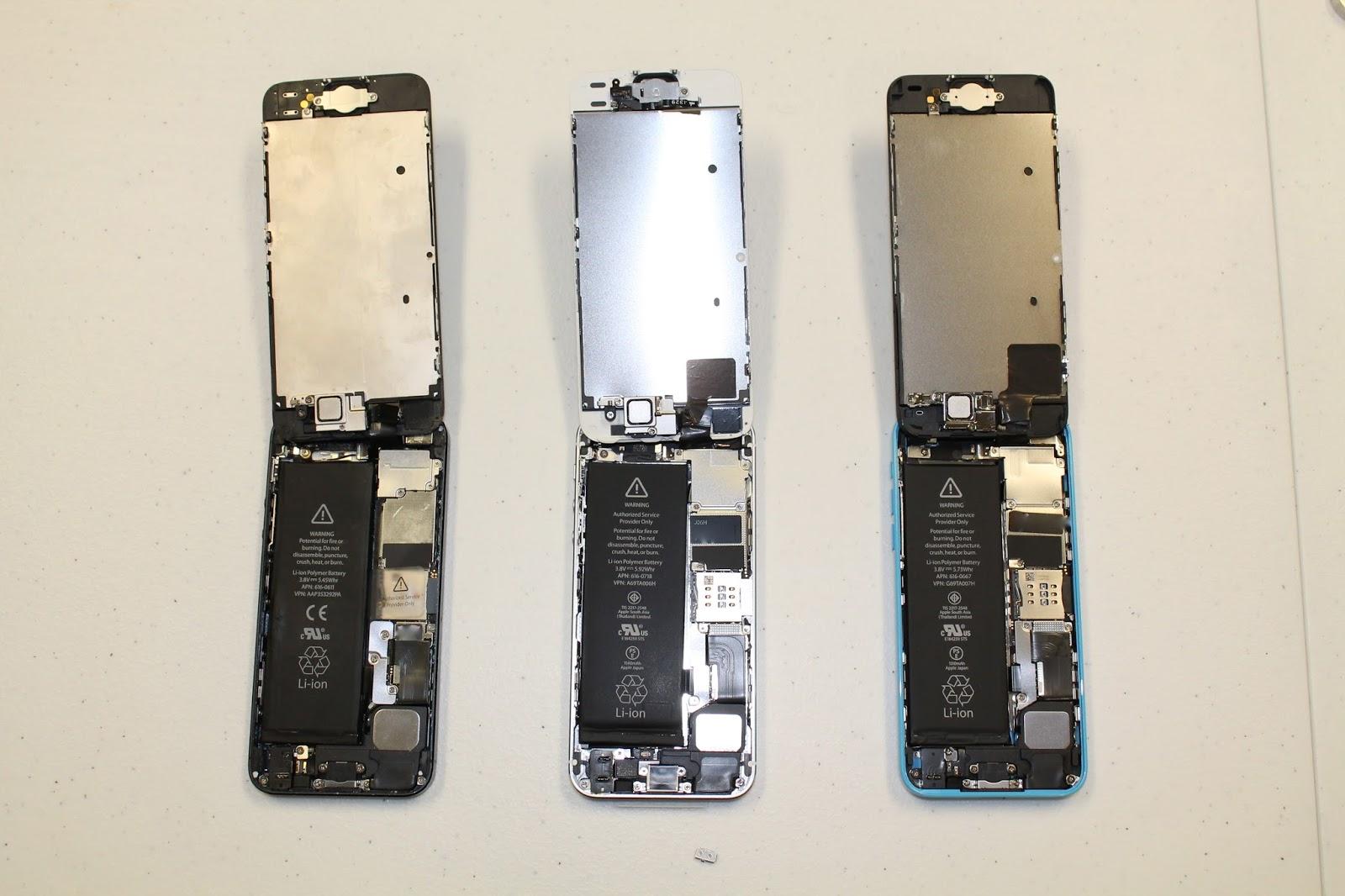 iExpert Australia - Teardown iPhone 5/iPhone 5C/iPhone 5S