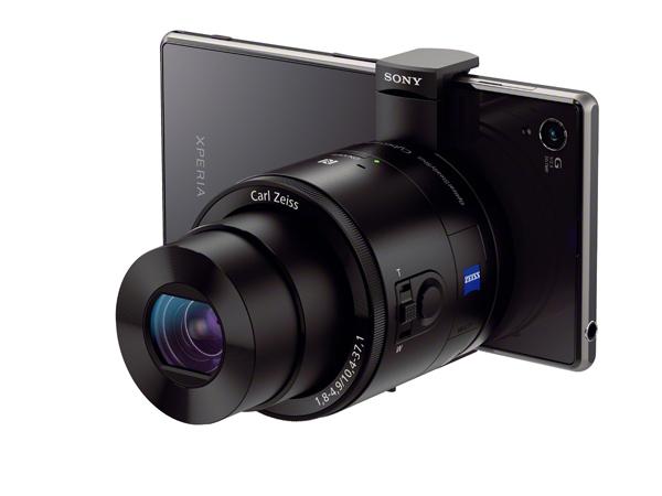 Sony DSC-QX100 - Lens Camera per smartphone