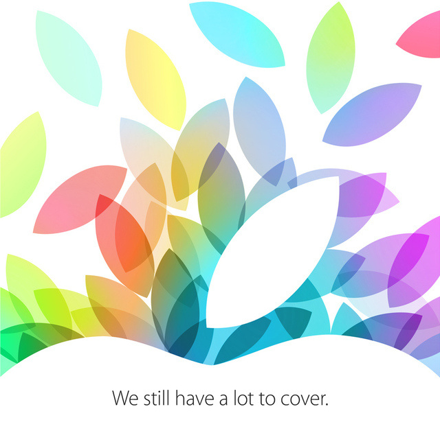 Apple Events - We still have a lot to cover - Invito per i media