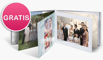 Photobox - Fotolibro gratuito come offerta di benventuo