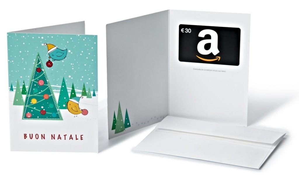 Amazon.it - Buono Regalo tema Natalizio