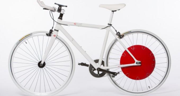 Copenhagen Wheel - Trasforma la tua bicicletta aggiungendo una pedalata assistita