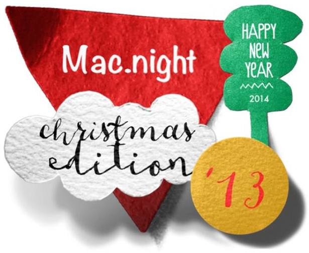 Mac.night Christmas edition '13 - AMUG Firenze, mac-community