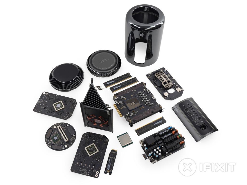 Mac Pro Late 2013 - Teardown by iFixit