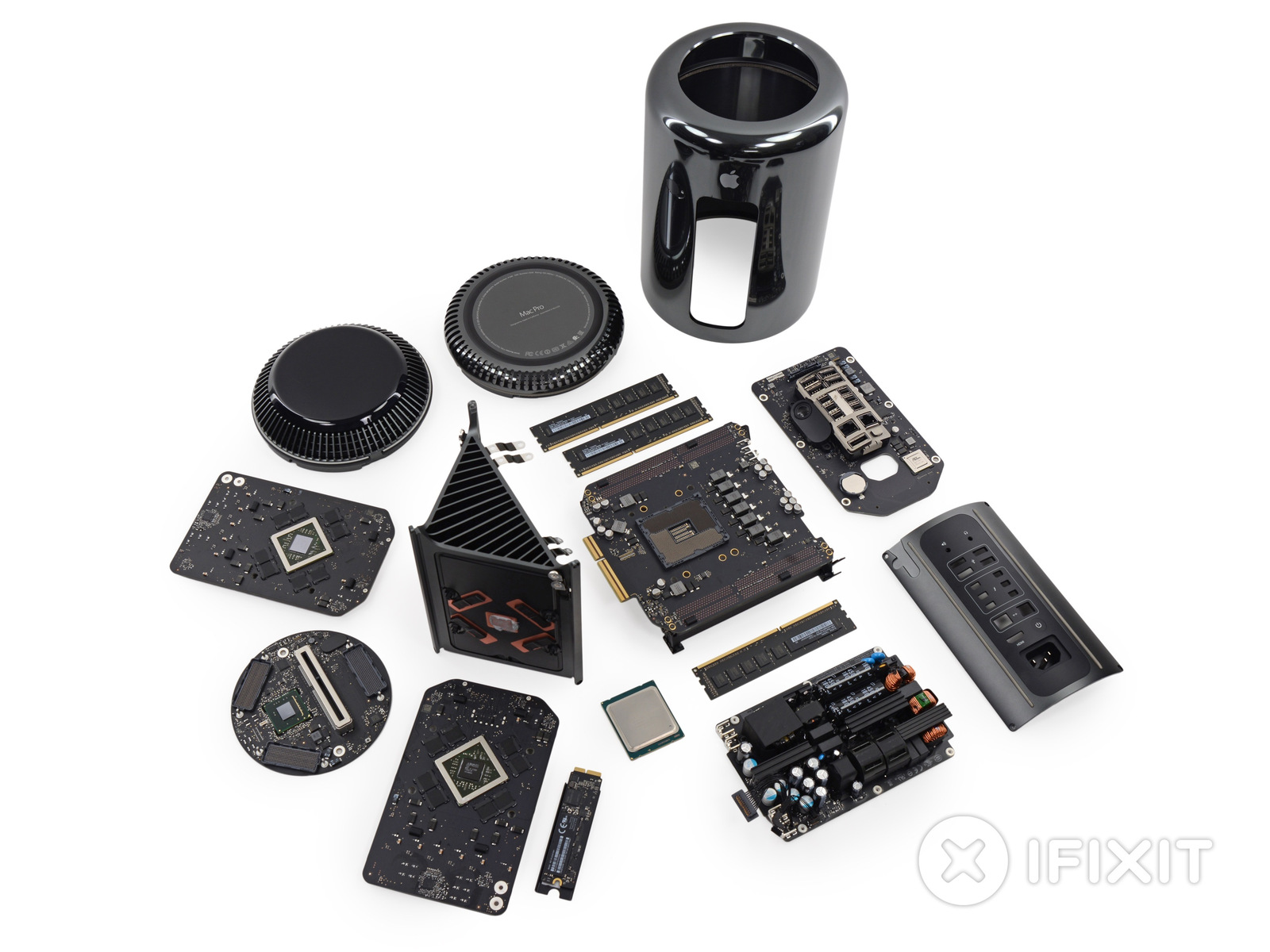 Mac Pro Late 2013 - Teardown by iFixit