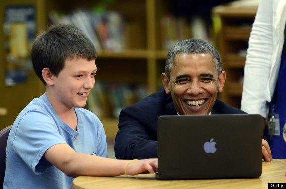 ConnectED - Iniziativa di Barack Obama per la connettività degli studenti americani