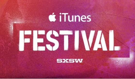 iTunes Fetival SXSW