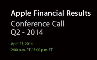 Apple - Conference Call - Risultati finanziari Q2-2014