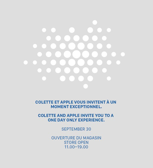 Colette ed Apple per un evento speciale parigino