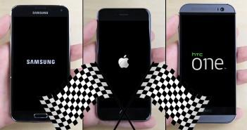 PhoneBuff - Confronto di velocità tra iPhone 6, Samsung Galaxy S5 e HTC One M8