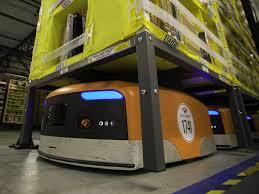 Kiva Robots presso i Centri di Distribuzione Amazon