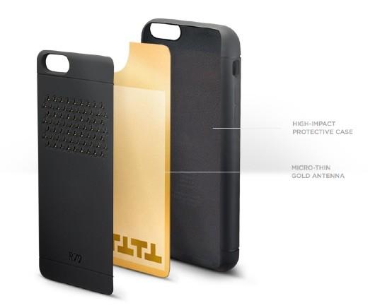 Reach79 - Cover che migliora la potenza del segnale di iPhone 6 e iPhone 6 plus