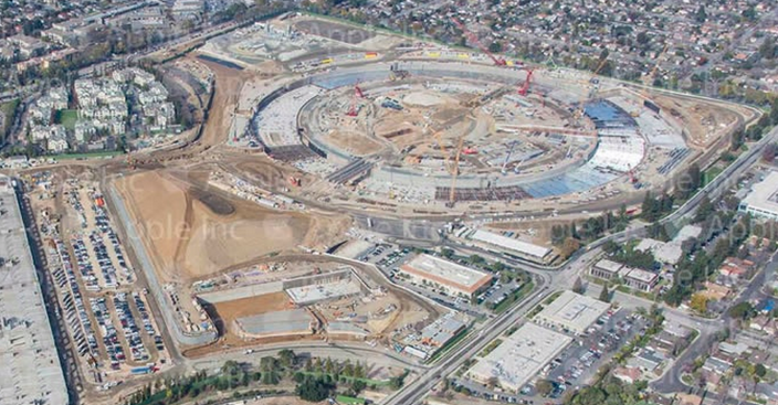 Apple Campus 2, Cupertino, California - Avanzamento lavori
