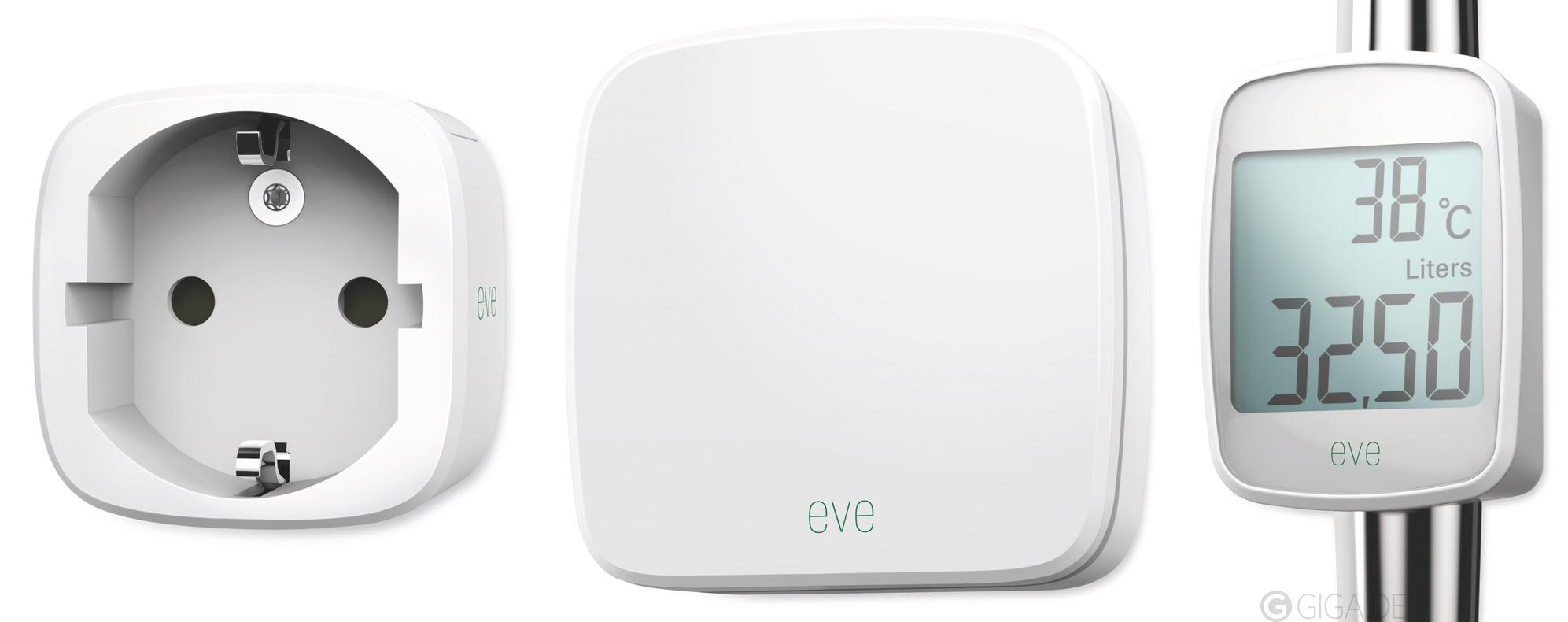 Elgato Eve - Linea di sensori per la domotica controllata da smartphone