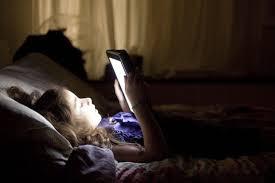 Leggere l'iPad prima di dormire