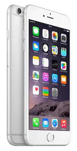 iPhone 6 plus argento