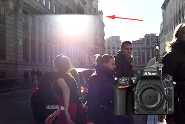 Nikon D750 Flare - Immagini fantasma